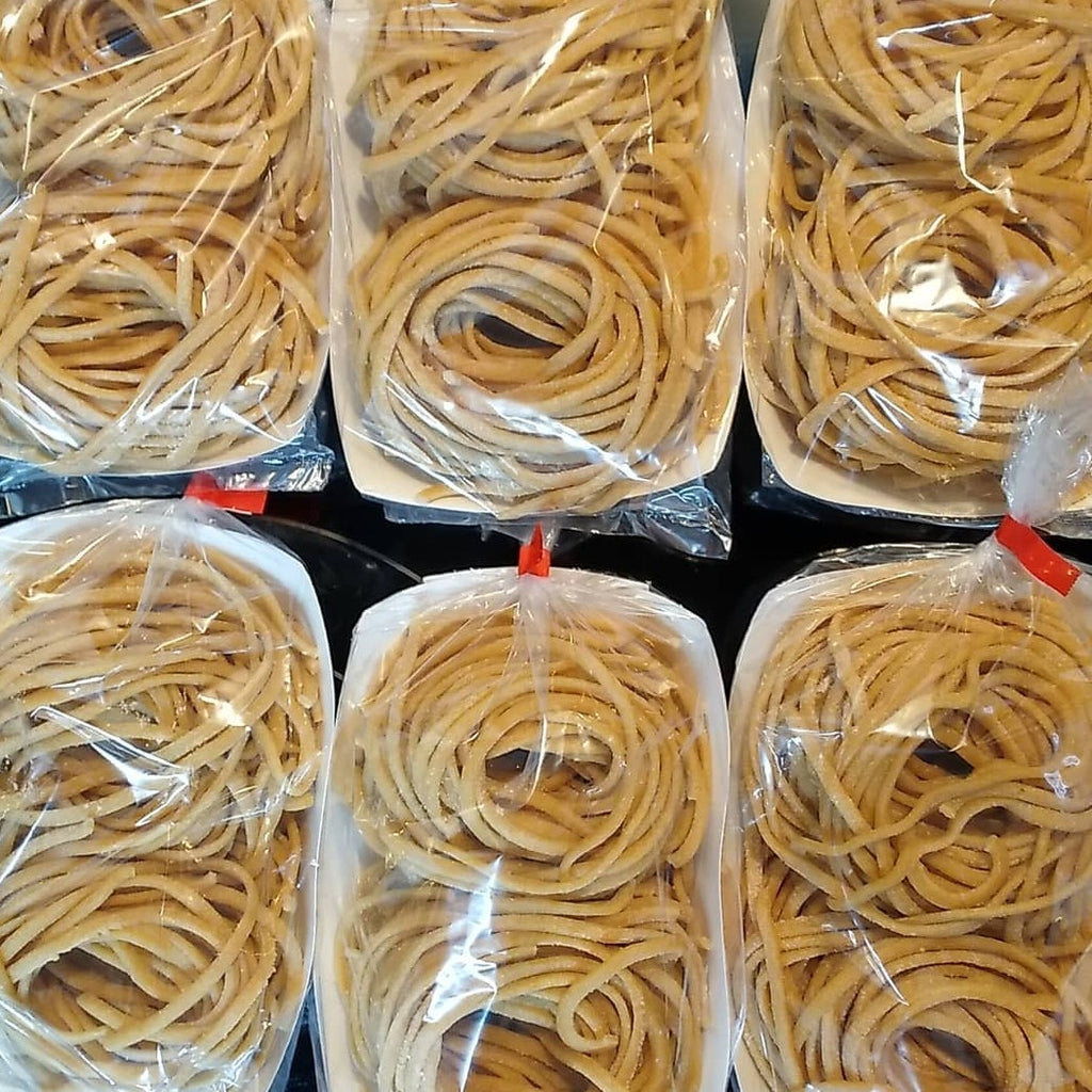 6 portions of homemade pasta