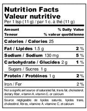 Load image into Gallery viewer, A nutrition fact sheet