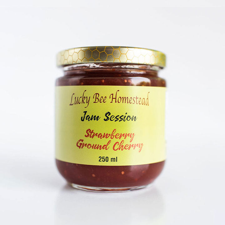 Strawberry-Ground Cherry Jam