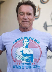 "Schwarzenegger ""Come With Me If You Want To Lift"" Tank Top"