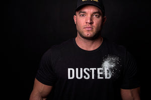 DUSTED unisex tee - The Titan Fuel