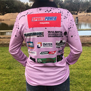 Womens Fishing Shirt - Lilac