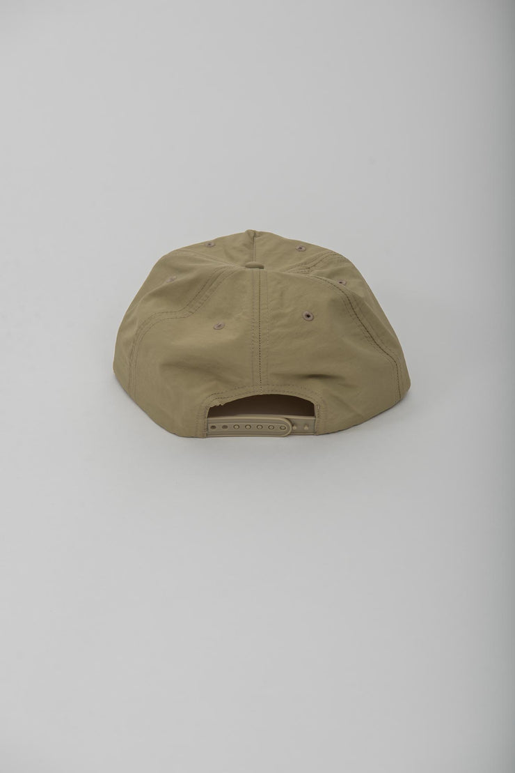 Mossy Back Primary Logo hat - Tan