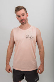 Thirsty Marron Muscle tee - Pink