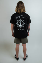 Ship-Wheel Tee - Black