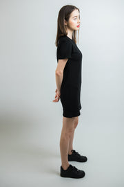 Women's Anchor Tee Dress - Black