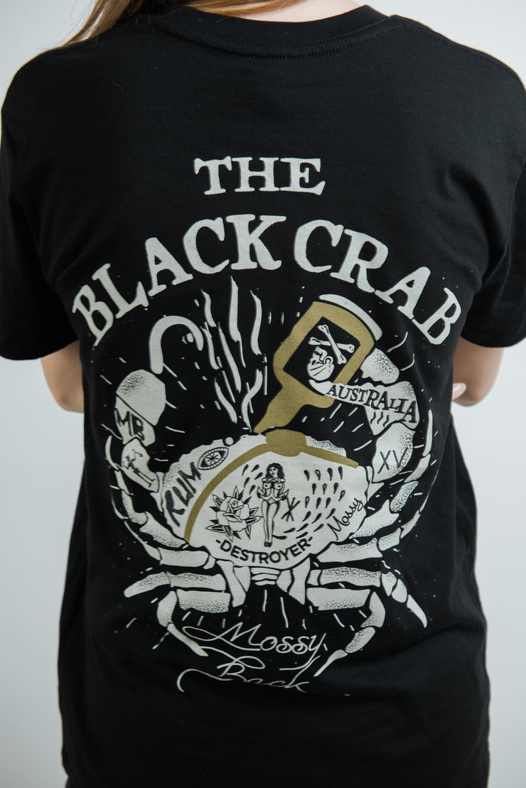 The Black Crab Tee - Black