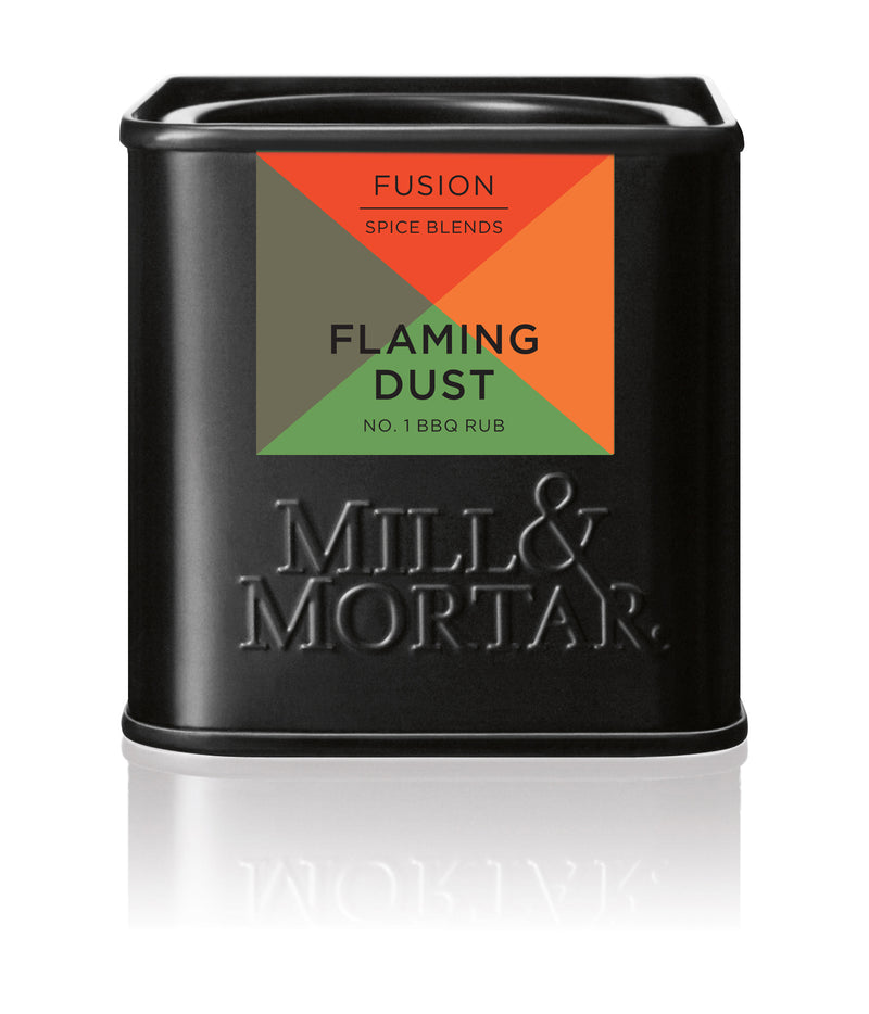 Flaming Dust BBQ BIO RUB Mill & Mortar