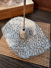Load image into Gallery viewer, White Textured incense Holder - by Sophia Grace Collection