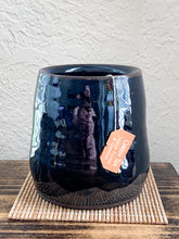 Load image into Gallery viewer, Deep Blue Chocolate Clay Cup - by Sophia Grace Collection