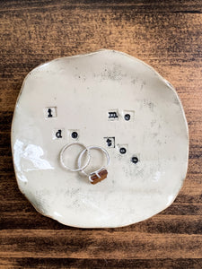 I Do // Me Too Ring Dish - Great Engagement Gift! - by Sophia Grace Collection