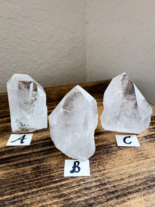 Clear Quartz Point - Clarity // Enlightenment