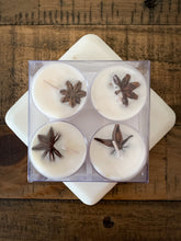 Load image into Gallery viewer, Cardamom & Anise Soy Tealight Candles - 4 Pack - by Sweet Mermaids