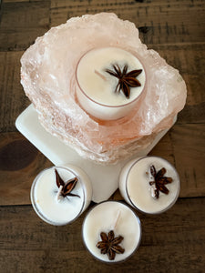 Cardamom & Anise Soy Tealight Candles - 4 Pack - by Sweet Mermaids