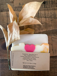 Plumeria Soap - by Bet's Bars