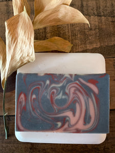 Tobacco & Bay Leaf Charcoal & Clay Soap - by Bet's Bars