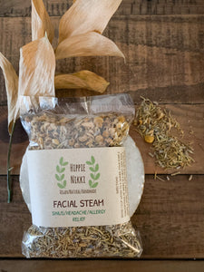 "Facial Steam ""Sinus/Headache/Allergy Relief"" - by Hippie Nikki"