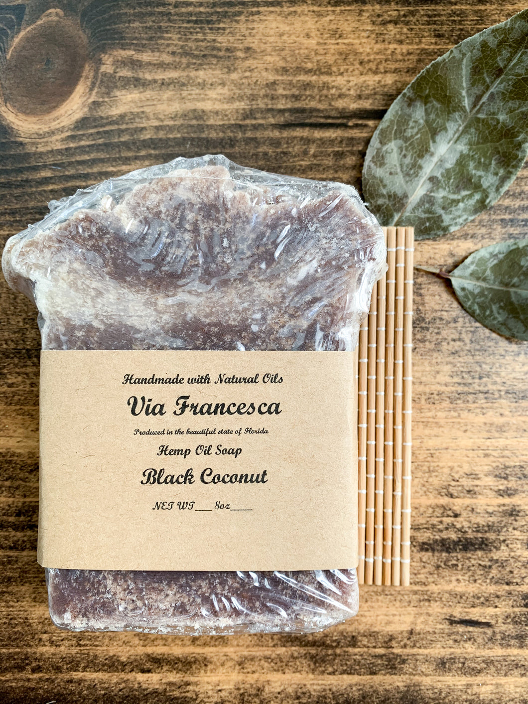 Black Coconut Soap - by Naked Kettle Soap