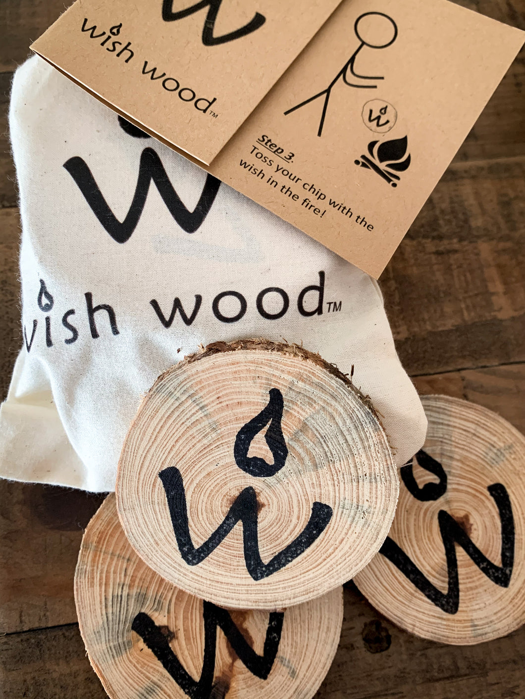 Wish Wood - 5 Pack