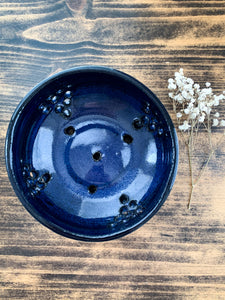 Deep Blue Berry Bowl - by Sophia Grace Collection