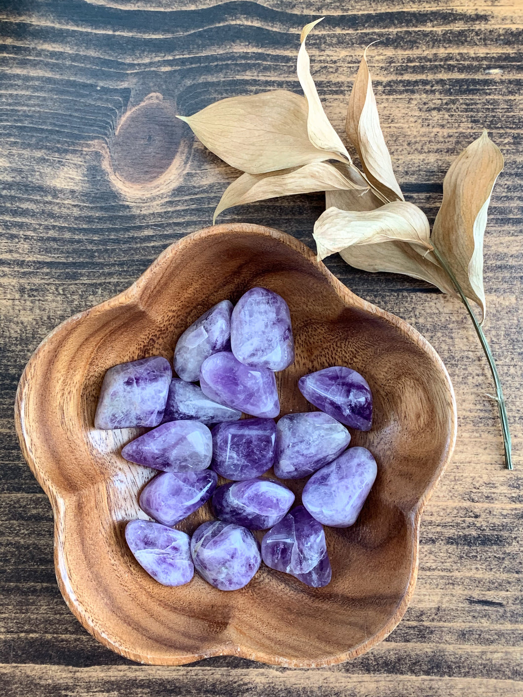 Tumbled Amethyst - Intuition // Spirituality // Protection
