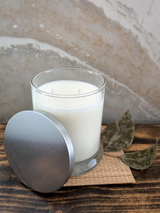 Black Ice Soy Candle - Silver Collection - by Sweet Mermaids
