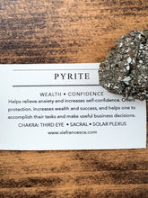 Load image into Gallery viewer, Pyrite Specimen - Wealth // Confidence