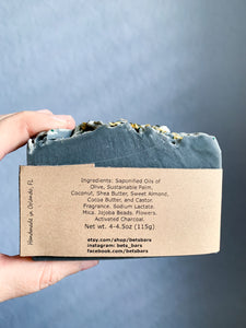 White Birch Activated Charcoal Soap - by Bet's Bars