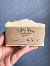 Load image into Gallery viewer, Lavender & Mint Soap - by Bet's Bars