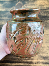 Load image into Gallery viewer, Copper Clay Vase - by Sophia Grace Collection