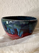 Load image into Gallery viewer, Large Blue Drip Bowl - by Sophia Grace Collection