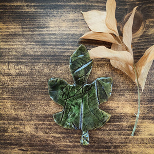 Decorative Clay Leaf - by Sophia Grace Collection