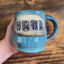 "Load image into Gallery viewer, ""NANA"" Stamped Coffee Mug - by Sophia Grace Collection"