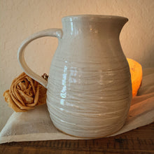 Load image into Gallery viewer, White Pitcher - by Sophia Grace Collection