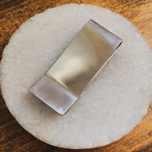 Load image into Gallery viewer, - Personalized - Aluminum Money Clip - Hand Stamped - by Francesca