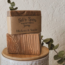 Load image into Gallery viewer, Hickory & Suede Soap - by Bet's Bars