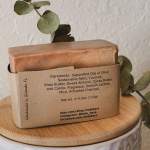 Hickory & Suede Soap - by Bet's Bars