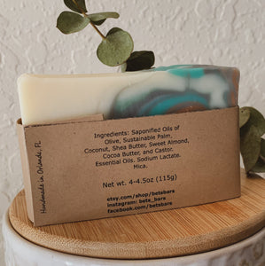 Rosemary & Mint Soap - by Bet's Bars