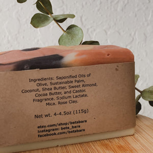 Spiced Cranberry & Orange Chutney Soap - by Bet's Bars