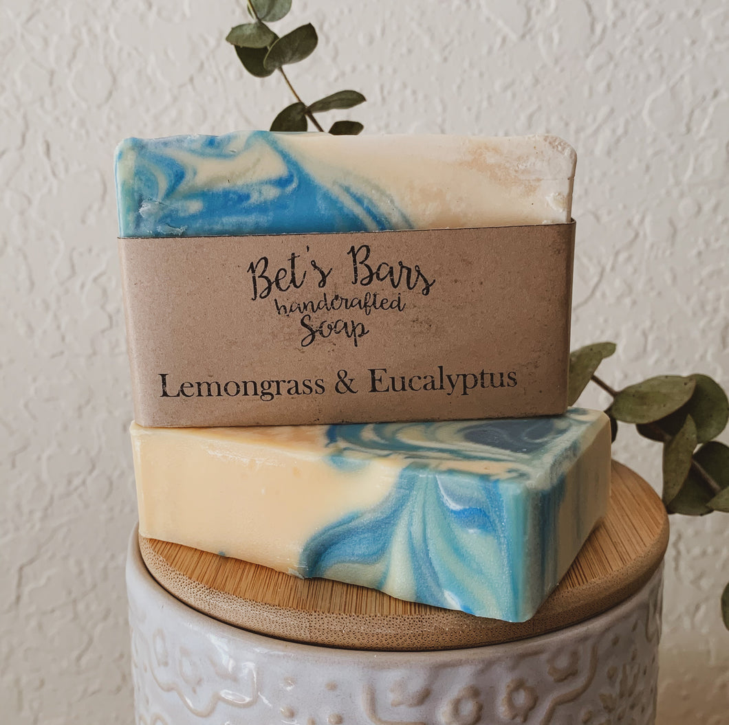 Lemongrass Eucalyptus Soap - by Bet's Bars
