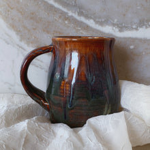 Load image into Gallery viewer, Large Brown and Blue Mug - by Sophia Grace Collection
