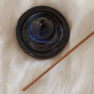 Deep Blue Incense Holder - by Sophia Grace Collection