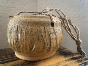 Crackle Hanging Planter - by Sophia Grace Collection