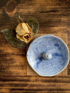 Blue Incense Holder - by Sophia Grace Collection