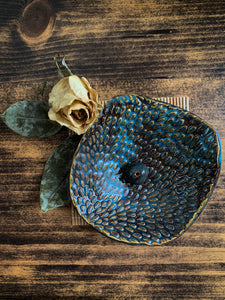 Textured Incense Dish - by Sophia Grace Collection