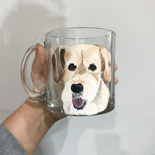 Load image into Gallery viewer, Coffee Mug with Personalized Pet Portrait - Hand Painted - by Via Francesca