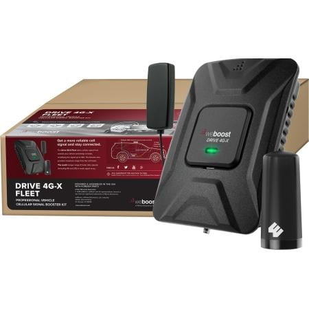 Drive 4G-X Fleet Vehicle Cell Signal Booster Kit - AmplusWave