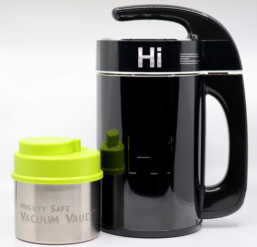 Herbal Infuser Vacuum Vault Combo