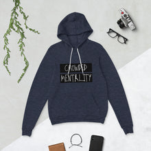 Load image into Gallery viewer, BLACK overlay crowded mentality Unisex hoodie