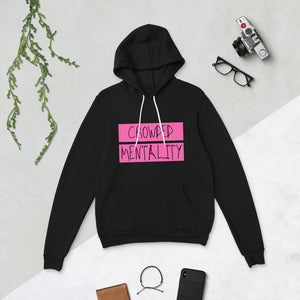 PINK overlay Crowded mentality light weight Unisex hoodie